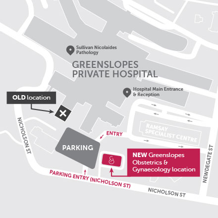 Suite 2F, Lobby Level Greenslopes Private Hospital 111 Newdegate Street Greenslopes QLD 4120